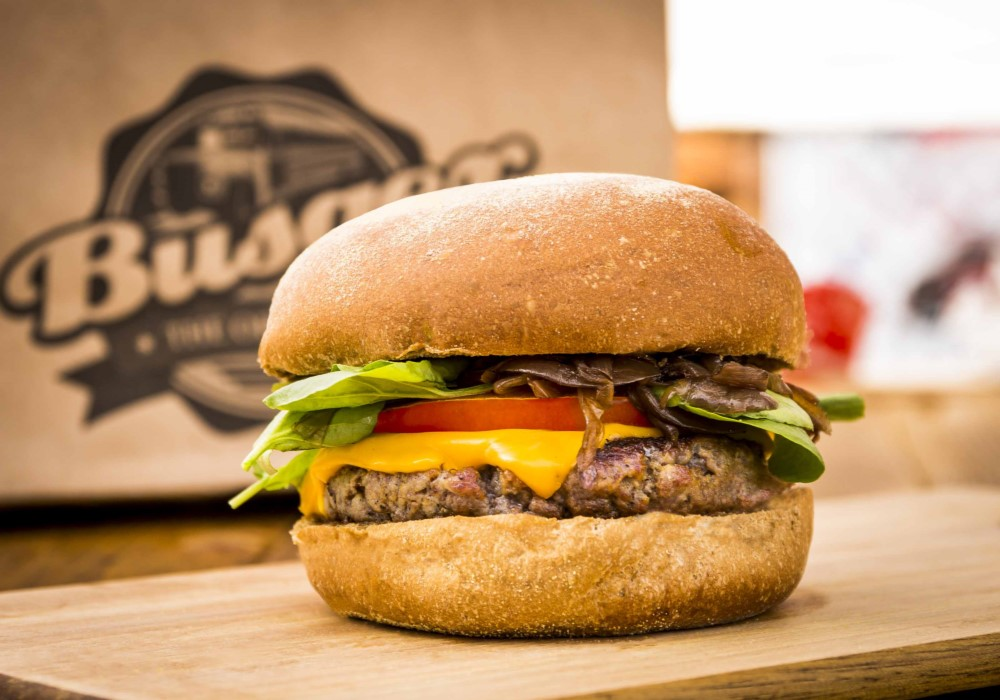 Busger hamburguer em dobro