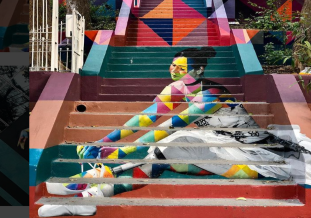 Escadaria das Bailarinas Pinheiros Festival Mais Detox